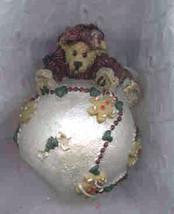 """Boyds Bearstone Ornament """"Clair..w/Gingerbread Garland""""  #25701- NIB- Re... - $19.99"""