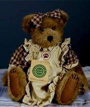 "Boyds Bears ""Ottilie Wilhemina"" #94860 Gcc  12"" Plush Bear   Nwt  1998 Retired - $39.99"