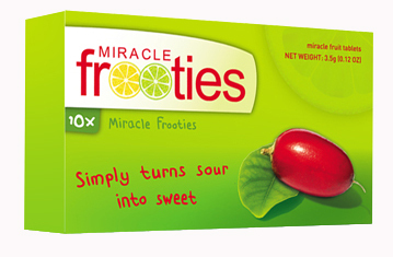 Primary image for MIRACLE FRUIT TABLETS Miraculin GREEN BOX  350MG PER TABLET 10 TABS Miracle Froo
