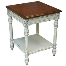 FABULOUS MAHOGANY PROVENCE TEA SIDE /ACCENT TABLE, 21.5''DIAM X 27.5''TALL. - $544.50