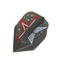 L-Style Champagne Standard Dart Flight Black Small Standard Morgan Mccormack ... - $11.99