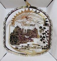 Sedona Arizona ORNAMENT Oak Creek Canyon More City State Travel Souvenir... - $13.95