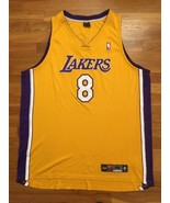 Authentic Nike 2003 Los Angeles Lakers Kobe Bryant Home Yellow Jersey 56... - $999.99