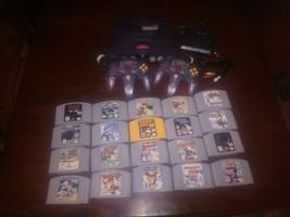 Nintendo 64 Lot-20 Games-2 Controllers-Super Smash, Mario Party 1,2,3, Z... - $396.00
