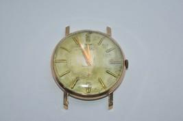 Vintage Swiss Waltham Sub Dial 17 Jewel 10K Gold Plated mens watch Runs good  - $112.16