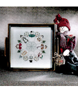 Winter Circle cross stitch chart Cricket Collection - $6.30
