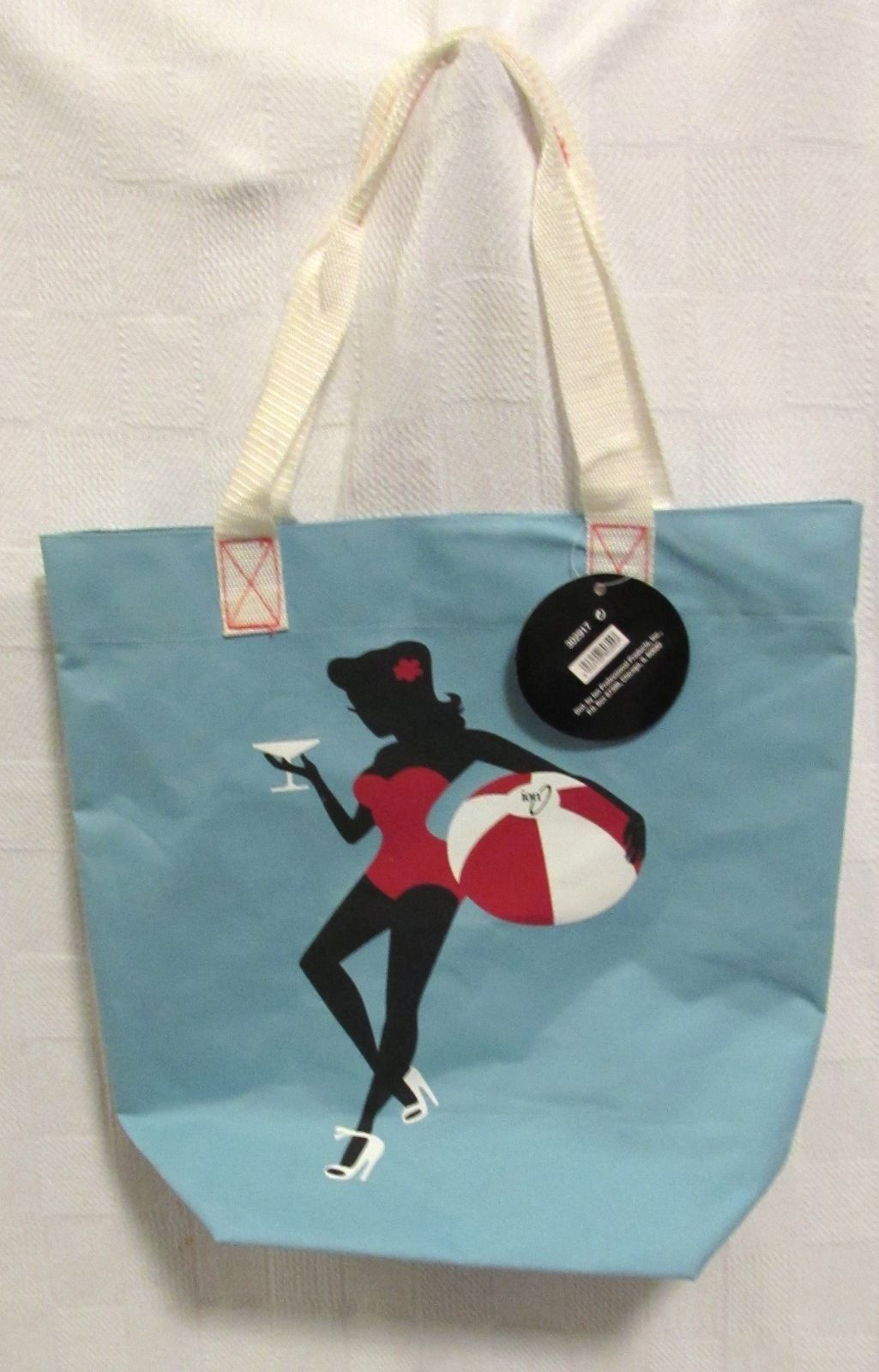 Ion Pin-Up Tote Bag - NWT Blue