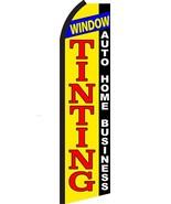 Window Tinting Standard Size Economic Swooper Flag Sign (11x5x2.5 feet)  - $15.99