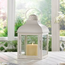 Gable Large White Candle Lantern - $33.00