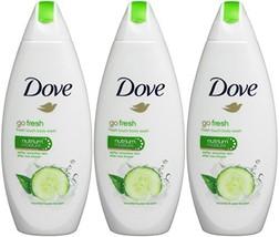 Dove Go Fresh Body Wash - International Version , 3- Count - $20.00