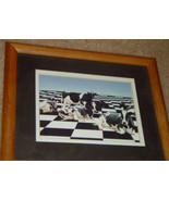 Wal Art Cow Picture In 11x9 Frame - $14.90