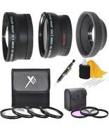 Lens & Filters Accessory Bundles For Nikon D3300 D3000 D60 D40 D40x 18-55mm - $74.99
