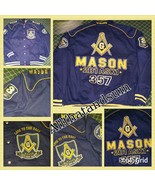 Freemason Mason Masonic Blue Gold Long sleeve t... - $129.99