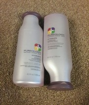 Pureology hydrate shampoo & conditioner dry color treated hair 8.5oz each - $44.98