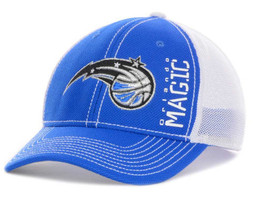 """Orlando Magic NBA Adidas """"Zone Mesh"""" Stretch Fitted Hat New With Tags - $16.78"""