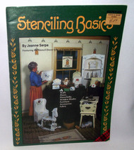 Stenciling Basics Stencil Craft Patterns Wood Fabric How Jeanne Serpa Fr... - $9.72