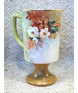 Hand Painted Porcelain Mug - Artist Signed Helen Johnson '90 - Lovely De... - $23.49