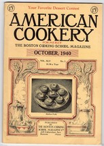 Vintage Issue of  the American Cookery Magazine... - $15.83