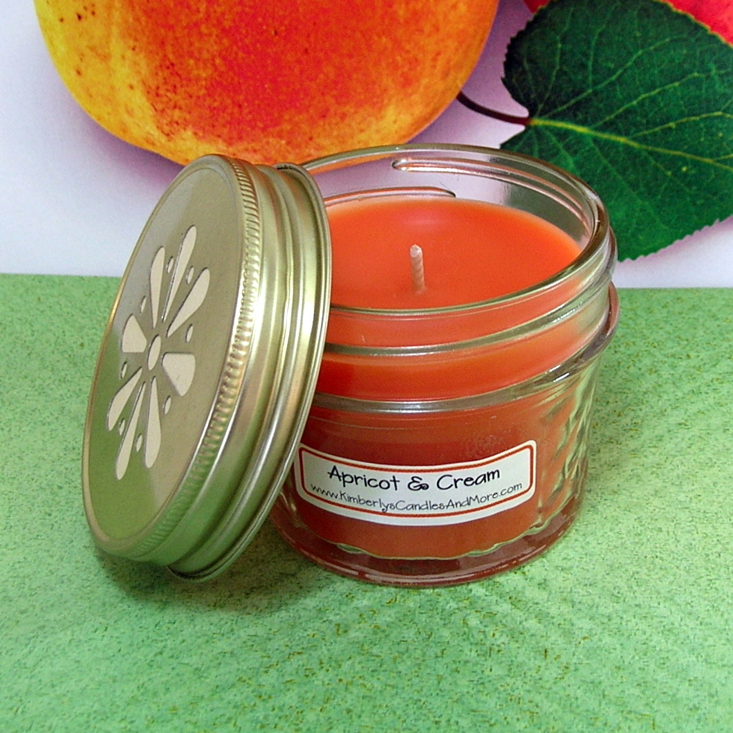 Jelly jar small apricot   cream 2