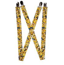 "Suspenders - 1.0"" Despicable Me Minions Stacked Close-Up - $13.99"