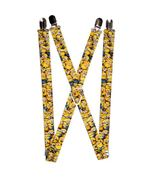 """Suspenders - 1.0"""" Despicable Me Minions Stacked Close-Up - $13.99"""