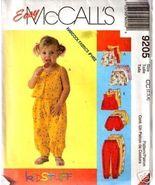 McCalls 9205 Top,Pants Shorts & Bloomers Sz 2-3-4 - $5.00