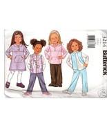 Butterick 3214 Girls Vest,Top, Dress & Pants Sz 2-3-4-5 - $7.00