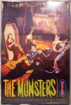 Polar Lights The Munsters Plastic Model Kit #5013 NIB - $25.00