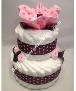Pink Chocolate Diaper Cake - $55.00
