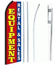 Equipment Rental & Sales Standard Economic Size Swooper Flag Sign Complete Set  - $62.99