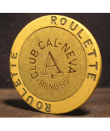 """1990's Roulette Chip From: """"The Club Cal-Neva Casino""""- (sku#2955) - $2.69"""