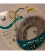 GE PHONE ULTRA THIN LINE CORD DOVE GRAY-86325 - $3.99