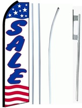 Sale Standard Economic Size Swooper Flag Sign Complete Set  - $62.99