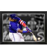 Vladimir Guerrero Jr. Framed Canvas - Bat Breaking Hit - Toronto Blue Jays - $370.00