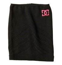 DC Shoes Womens Black Stowe Neck Tube Gaiter Scarf Skiing Snowboarding NEW w Tag