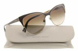 Giorgio Armani Sonnenbrille AR6019 3063/13 57MM Matt Braun/Farbverlauf B... - $97.02