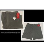 BCG Shorts Solid Twill Men's Sz 38 Gray Tru Wick Sun Protection - $10.99