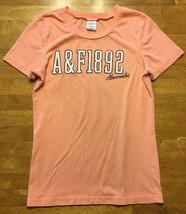 Abercrombie & Fitch Women's Orange Short Sleeve Shirt / Blouse - Size: S... - $13.36