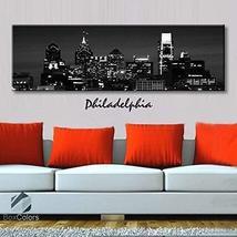Original by BoxColors Single panel 3 Size Options Art Canvas Print Phila... - $59.00