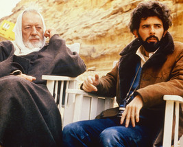 Alec Guinness And George Lucas 16X20 Canvas Giclee - $69.99
