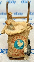 """Lowell Davis """"The Party's Over"""" Figurine  1986 Schmid Cat Mice Hand Truck 221002 - $205.41"""