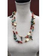 "Authentic Chipita 52"" Vintage Sioux Tribe Designer Necklace - $256.11"