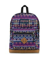 WOW! NEW JANSPORT CITY VIEW TRIBE VIBE  BACKPACK AZTEC UNISEX LAPTOP JAO... - $37.39