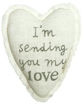 C.R. Gibson Treasured Healing Heart Pillow, By Sandra Magsamen, Pocket O... - $114,34 MXN