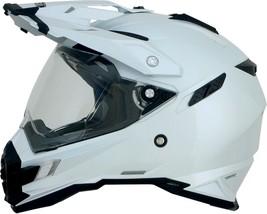 Afx FX-41DS Solid Helmet Pearl White Sm - $169.95