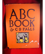 ABC Book by C. B. Falls 1923 FINE first edition in V. RARE original dust... - $490.00