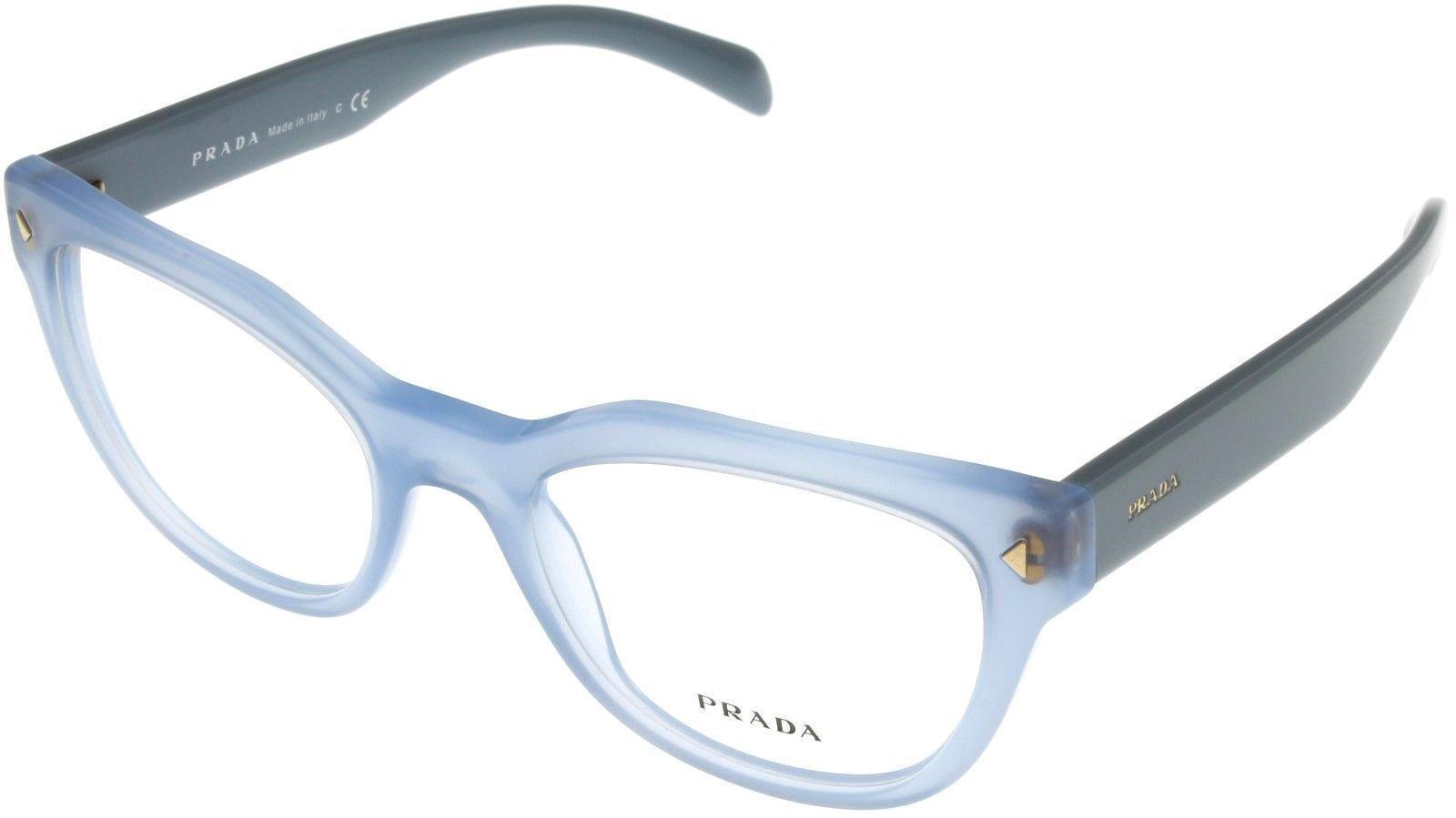 3e18a57a850 Prada Eyewear Frame Blue Azure Cat Eye Women and 38 similar items