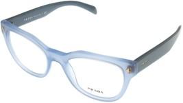 Prada Eyewear Frame Blue Azure Cat Eye Women PR21SV UEX101 - $187.11