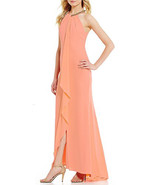 Calvin Klein Women's Dress, Peach, 8 - $70.88