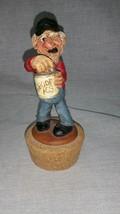 Vintage Jar figure Cork Stopper Lid - $19.79